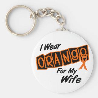 I Wear Orange For My WIFE 8 Keychain