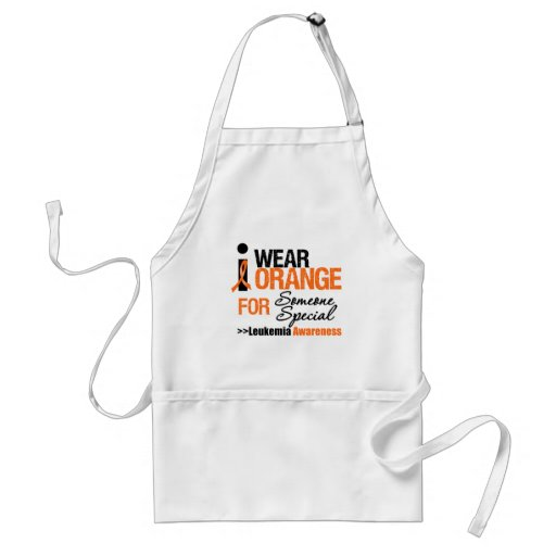 I Wear Orange For Someone Special Adult Apron