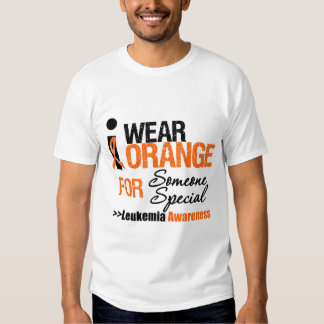 I Wear Orange For Someone Special T Shirt