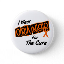 I Wear Orange For The CURE 8 Button
