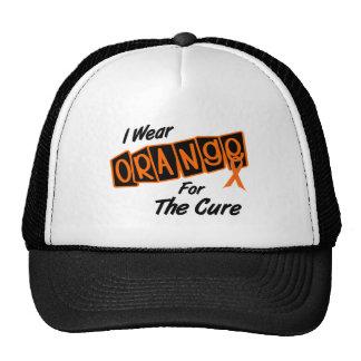 I Wear Orange For The CURE 8 Trucker Hat