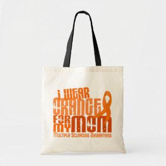 I Wear Orange Mom Multiple Sclerosis MS Bag