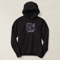 I Wear Orchid For Testicular Cancer Awareness Hoodie