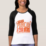 I Wear Peach For Me 6.4 Uterine Cancer T Shirts