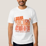 I Wear Peach For Mother-In-Law 6.4 Uterine Cancer Tee Shirt