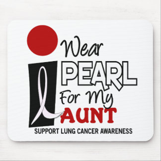 I Wear Pearl For My Aunt 9 Mouse Pad