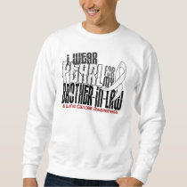 I Wear Pearl For My Brother-In-Law 6 Lung Cancer Sweatshirt
