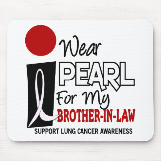 I Wear Pearl For My Brother-In-Law 9 Mouse Pad