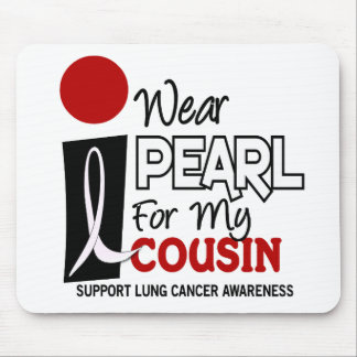 I Wear Pearl For My Cousin 9 Mouse Pad