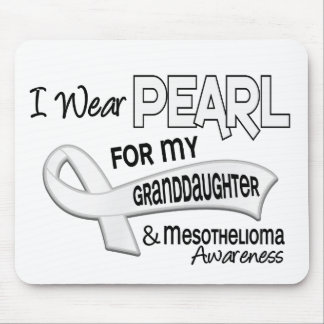 I Wear Pearl For My Granddaughter 42 Mesothelioma Mouse Pad
