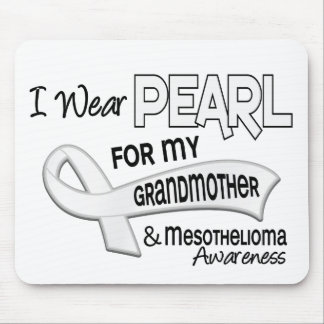 I Wear Pearl For My Grandmother 42 Mesothelioma Mouse Pad