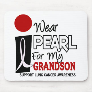 I Wear Pearl For My Grandson 9 Mouse Pad