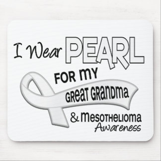 I Wear Pearl For My Great Grandma 42 Mesothelioma Mouse Pad