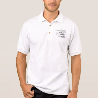 I Wear Pearl For My Sister 42 Mesothelioma Polo Shirt