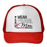 I Wear Pearl Ribbon For My Mom Trucker Hat