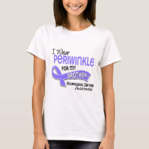 I Wear Periwinkle 42 Brother Esophageal Cancer T-Shirt