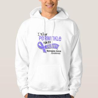 I Wear Periwinkle 42 Girlfriend Esophageal Cancer Hoodie