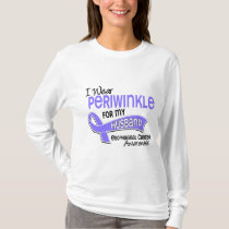 I Wear Periwinkle 42 Husband Esophageal Cancer T-Shirt