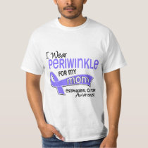 I Wear Periwinkle 42 Mom Esophageal Cancer T-Shirt