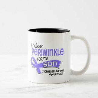I Wear Periwinkle 42 Son Esophageal Cancer Two-Tone Coffee Mug
