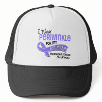 I Wear Periwinkle 42 Son-In-Law Esophageal Cancer Trucker Hat