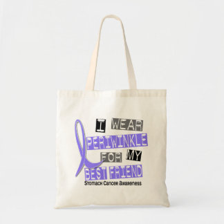 I Wear Periwinkle Best Friend 37 Stomach Cancer Tote Bag