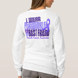 I Wear Periwinkle Best Friend 6.4 Stomach Cancer T-Shirt
