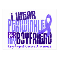 I Wear Periwinkle Boyfriend 6.4 Esophageal Cancer Postcard
