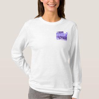 I Wear Periwinkle Boyfriend 6.4 Stomach Cancer T-Shirt