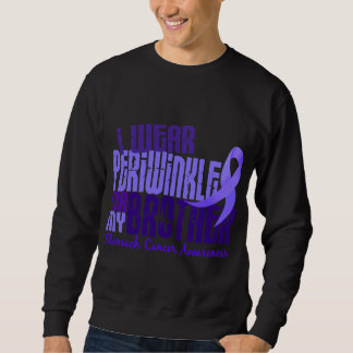 I Wear Periwinkle Brother 6.4 Stomach Cancer Sweatshirt