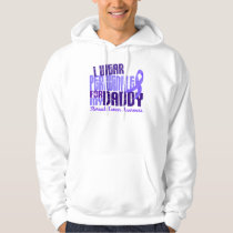 I Wear Periwinkle Daddy 6.4 Stomach Cancer Hoodie
