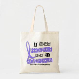 I Wear Periwinkle Father-In-Law 37 Stomach Cancer Tote Bag