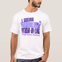 I Wear Periwinkle Father-In-Law 6.4 Stomach Cancer T-Shirt