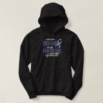 I Wear Periwinkle For Esophageal Cancer Awareness Hoodie