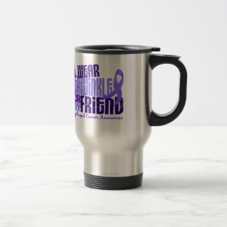 I Wear Periwinkle For Friend 6.4 Esophageal Cancer Travel Mug