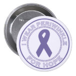 I Wear Periwinkle For Hope Buttons
