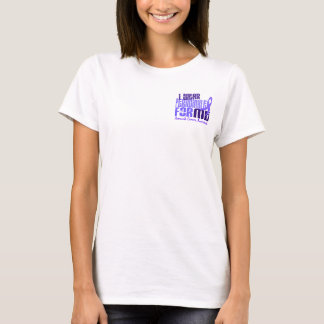 I Wear Periwinkle For Me 6.4 Stomach Cancer T-Shirt