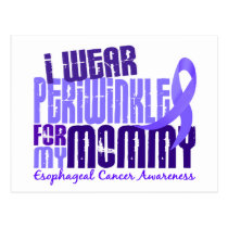 I Wear Periwinkle For Mommy 6.4 Esophageal Cancerc Postcard