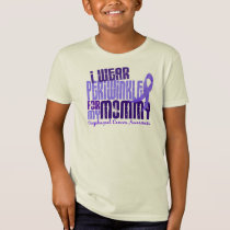 I Wear Periwinkle For Mommy 6.4 Esophageal Cancerc T-Shirt