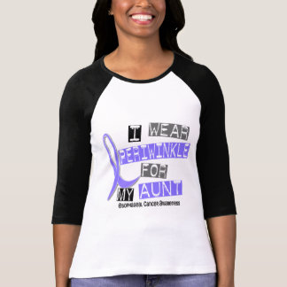 I Wear Periwinkle For My Aunt Esophageal Cancer Shirt