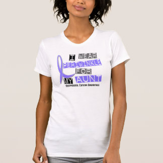 I Wear Periwinkle For My Aunt Esophageal Cancer T Shirts