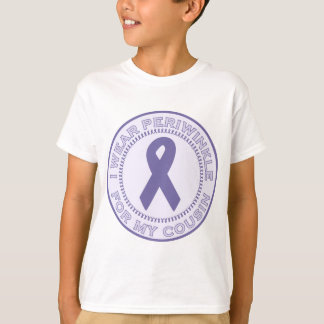 I Wear Periwinkle For My Cousin T-Shirt