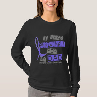 I Wear Periwinkle For My Dad 37 Stomach Cancer T-Shirt