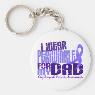 I Wear Periwinkle For My Dad 6.4 Esophageal Cancer Keychain