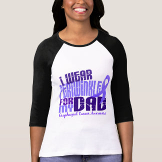 I Wear Periwinkle For My Dad 6.4 Esophageal Cancer Tee Shirt