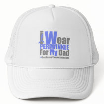 I Wear Periwinkle For My Dad Esophageal Cancer Trucker Hat