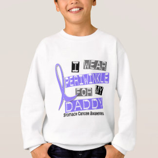I Wear Periwinkle For My Daddy 37 Stomach Cancer Sweatshirt