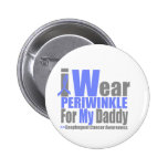 I Wear Periwinkle For My Daddy Esophageal Cancer Pin