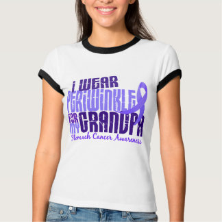 I Wear Periwinkle For My Grandpa 6.4 Stomach Cance T-Shirt