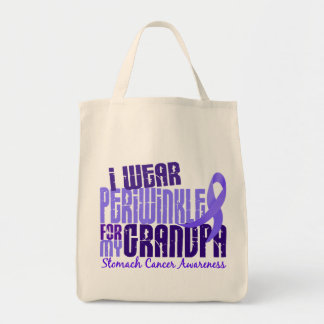 I Wear Periwinkle For My Grandpa 6.4 Stomach Cance Tote Bag